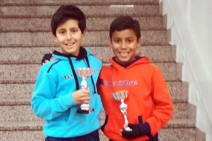 Daniel Pastor y Marcos Pico Campeones en Galapagar!!!