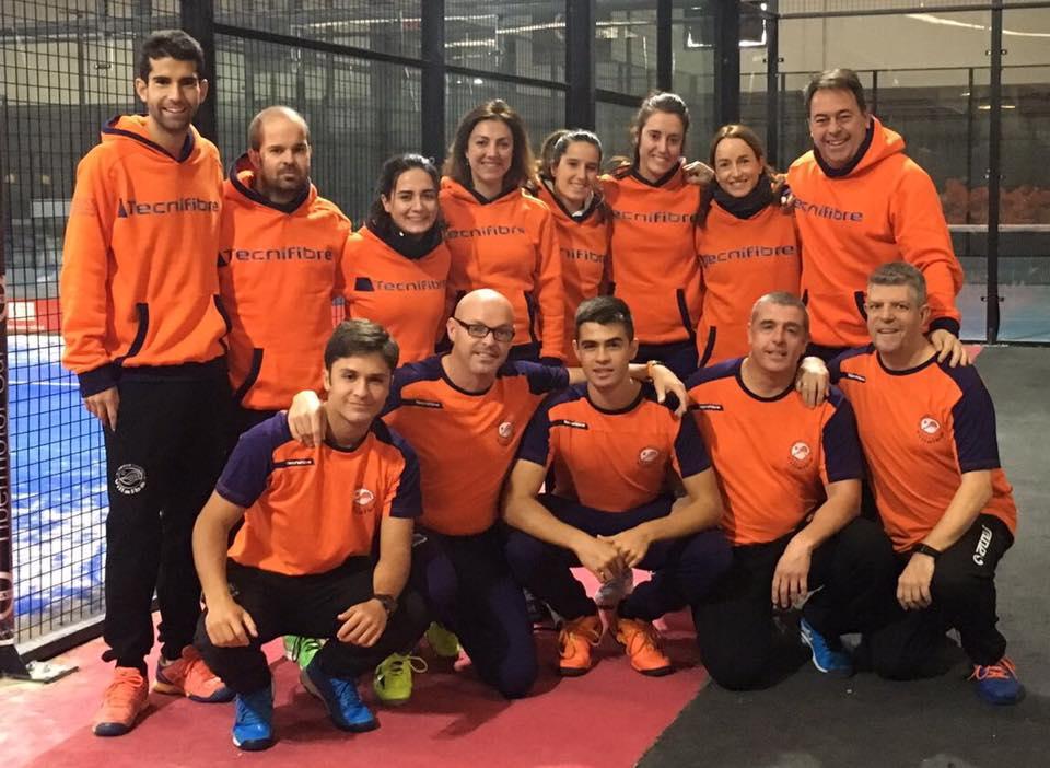 El Equipo de Padel A jugará el máster Zonal de 1 división!!